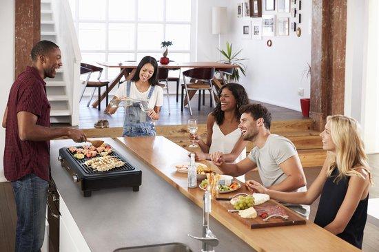 Tefal Smokeless Grill TG9008 grillen