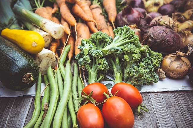groenten grillen