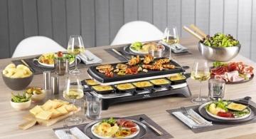 Tefal Inox RE4588 Raclette review test
