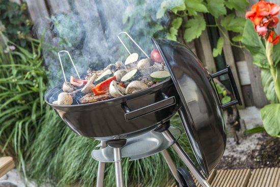 schoonmaken houtskool barbecue