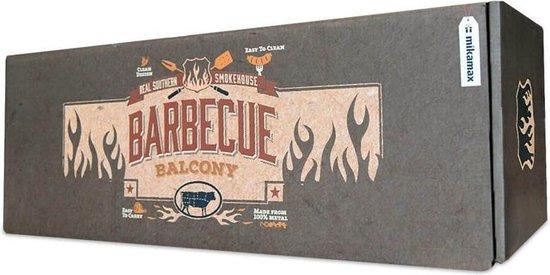 Balkon barbecue gevaarlijk